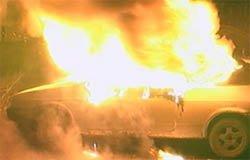 В Шуйском в собственном авто сгорел водитель