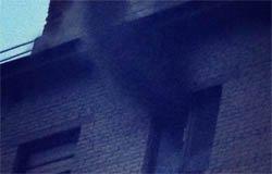 Пожар на Плетниковке