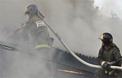 По ул. Урицкого сгорел дом