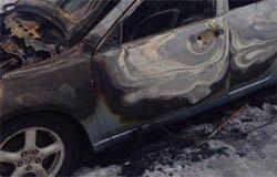 В Вязьме сожгли Honda Accord