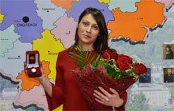 Жительницу Сычёвского района наградили за помощь в задержании подозреваемых