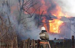 Пожар на улице Фурманова