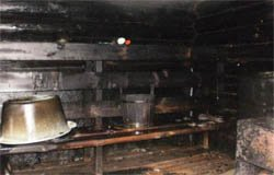 В Касне в бане сгорел пенсионер