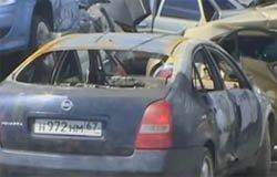 Житель Поляново сжег авто обидчика сестры