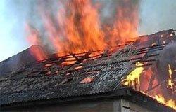 На Марии Расковой горел дом