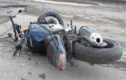 На ул. Ленина в ДТП попали мотоциклисты