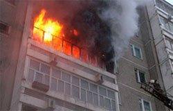 При пожаре на Московской едва не погиб мужчина