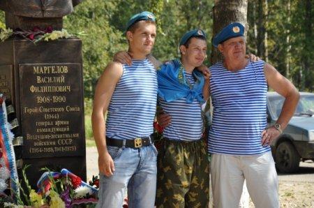 Памятник Маргелову в Вязьме