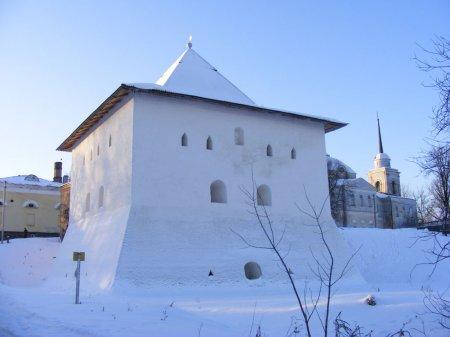 Спасская башня Вязьма