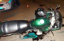 На ул. 25-го Октября иномарка сбила мотоциклиста
