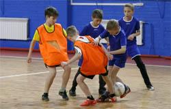Команда школы №5 стала победителем областных соревнований по мини футболу.