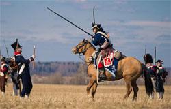 В Борисове стартовал конный переход по местам сражений 1812 года