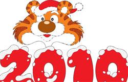 С наступающим Новым 2010 годом!