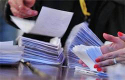 Предварительные итоги выборов в Вязьме 2009