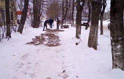 Вязьма ремонт тротуаров зимой