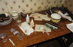 Полиция Вязьмы накрыла наркопритон