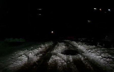 Освещение улиц Вязьмы [видео]