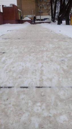 Так чистят улицы Вязьмы от снега