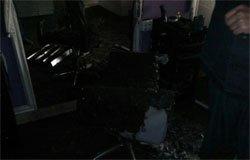 В Вязьме горела парикмахерская на ул. Парижской комунны