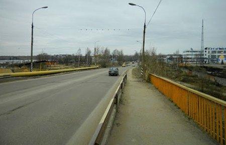 Панинский мост в Вязьме в аварийном состоянии