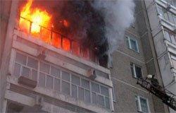 На Московской при пожаре погиб мужчина