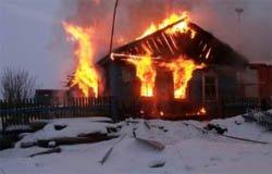 Сегодня ночью горел дом по ул. Кронштадтской