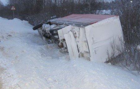 ДТП на 200-м километре трассы М-1, имеется пострадавший