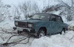 На 13-м км дороги «Вязьма- Калуга» пенсионеры съехали в кювет