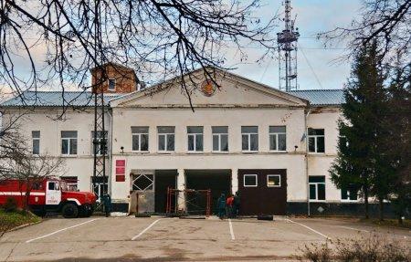 Пожарная часть Вязьма