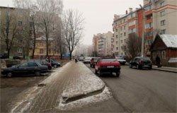 Улица Восстания в Вязьме