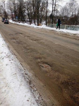 В феврале на Советской площади и Смоленском мосту начнется ямочный ремонт