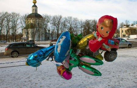 В Вязьме прошла масленица и проводы русской зимы