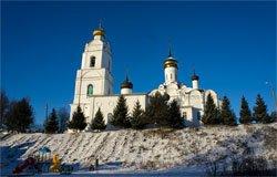 Застройка Соборного холма Вязьма