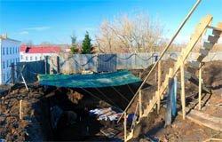 В Вязьме начались археологические раскопки у Троицкого собора