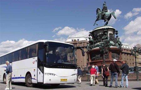 Автобус Вязьма Санкт-Петербург