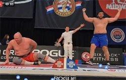 Виктор Колибабчук стал вторым на чемпионате мира по мас-рестрингу [видео]