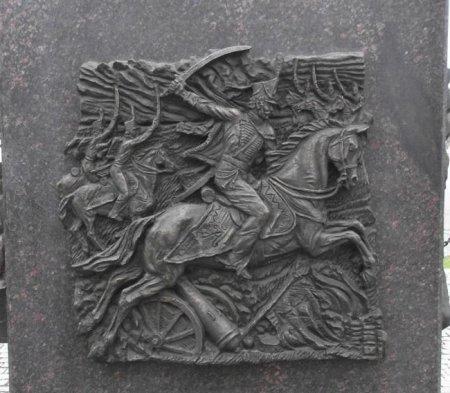 Вязьма стела Город Воинской Славы