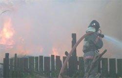 В Семлево горела хозяйственная постройка