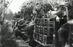 Немецкая военно-полевая узкоколейка ст. Волоста - Знаменка - Юхнов