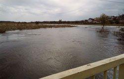 Внеплановый разлив реки Вязьма