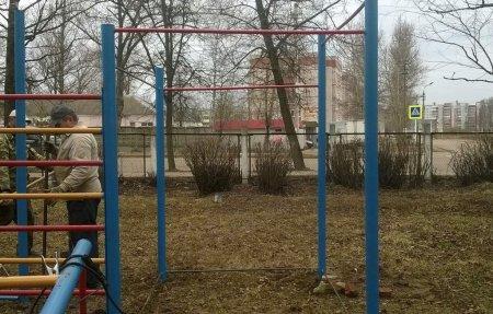 В Вязьме появилась новая спортивная площадка