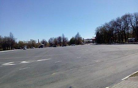Советская площадь к Параду Победы готова