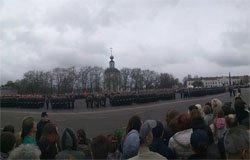 В Вязьме прошел Парад Победы