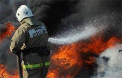 Пожар по ул. Сычевское Шоссе