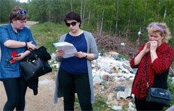 Полина Хомайко побывала в Юшково с расследованием