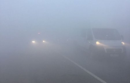В ДТП на 203 километре М-1 столкнулись две фуры и автобус [видео]