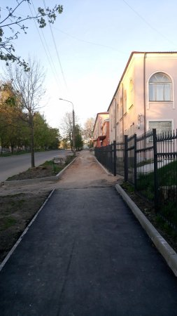 Обещания Беленко: тротуары