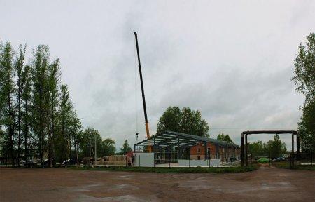 В Новом Селе началось восстановление Дома Культуры