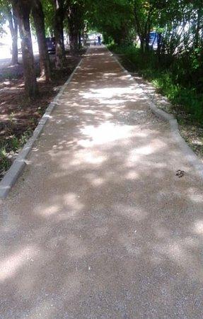 Тротуар Красноармейского шоссе будут доделывать «меценаты» Беленко