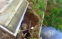 Из-за дорог и моста в д. Никольское не смогла приехать скорая помощь
